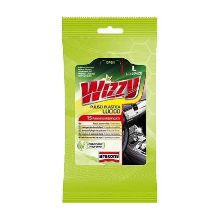 Wizzy Cloth cleans shiny plastic Arexons