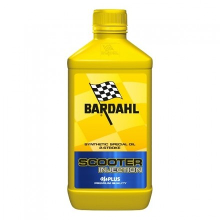 Motorcycle engine oil and scooter 2 times VBA SYNT 1 litro Bardahl