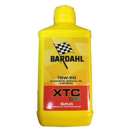 Motorcycle engine oil and scooter XTM POLAR PLUS 20W-50 1 litro Bardahl