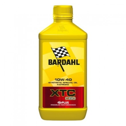 Motorcycle engine oil and scooter XTC C60 10W-40 1 litro Bardahl