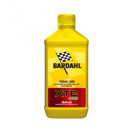 Motorcycle engine oil and scooter XTC C60 10W-30 1 litro Bardahl