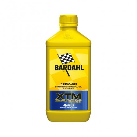 Motorcycle engine oil and scooter XTM POLAR PLUS 10W-40 1 litro Bardahl
