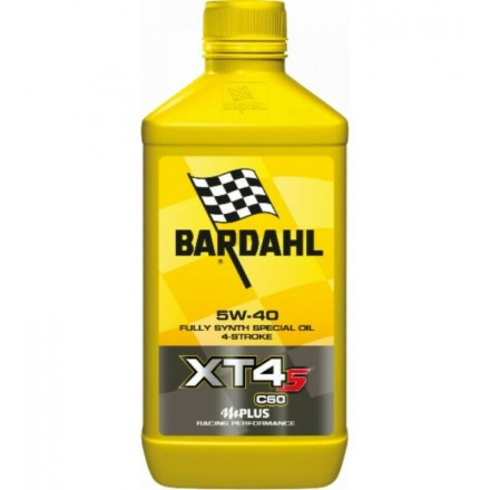 Motorcycle engine oil and scooter XT4-S C60 5W-40 1 litro Bardahl