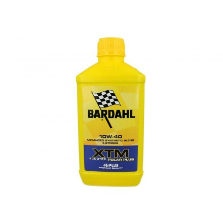 Motorcycle engine oil and scooter XTM POLAR PLUS SCOOTER 10W-40 1 litro Bardahl