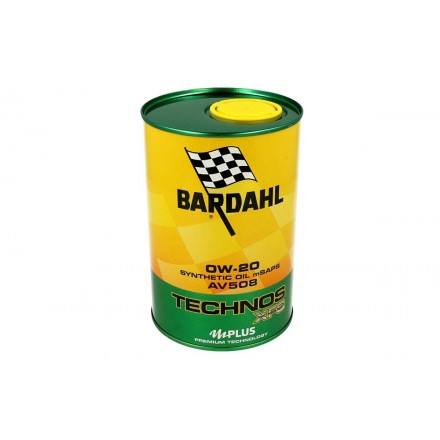 Car engine oil TECHNOS XFS AV508 0W-20 1 litro Bardahl