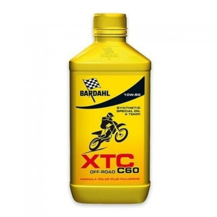 Motorcycle engine oil and scooter XT4-S C60 OFF ROAD 10W-50 1 litro Bardahl